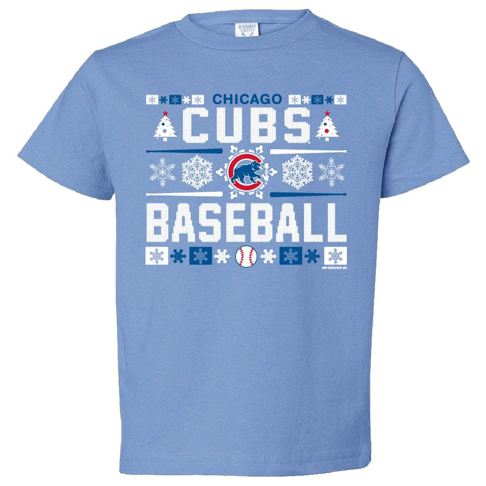 HOLIDAY SWEATER TODDLER AND YOUTH CHICAGO CUBS TEE - Ivy Shop