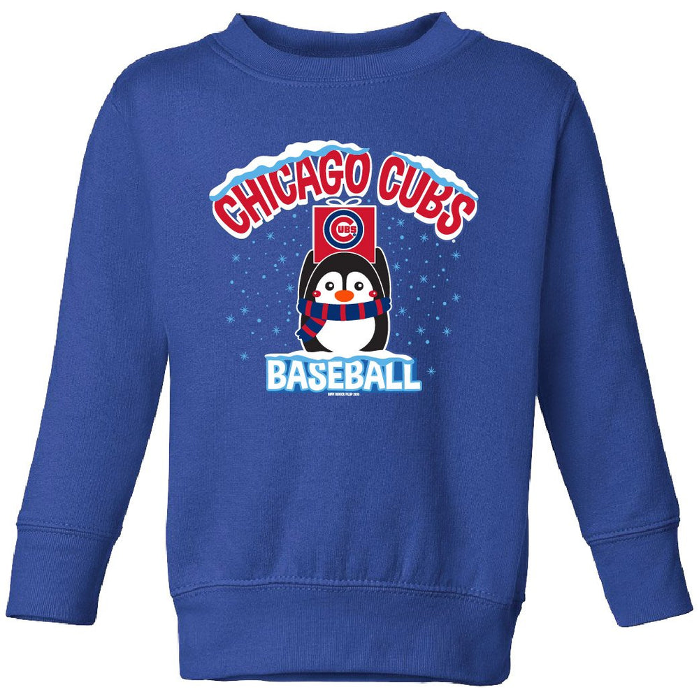 PENGUIN TODDLER CHICAGO CUBS CREW SWEATSHIRT