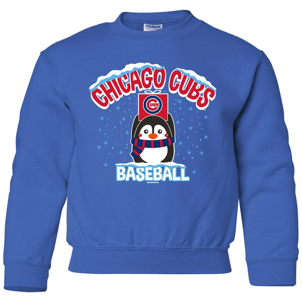 PENGUIN YOUTH CHICAGO CUBS CREW SWEATSHIRT