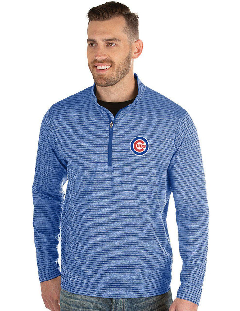 CAPACITY ANTIGUA CHICAGO CUBS HALF ZIP