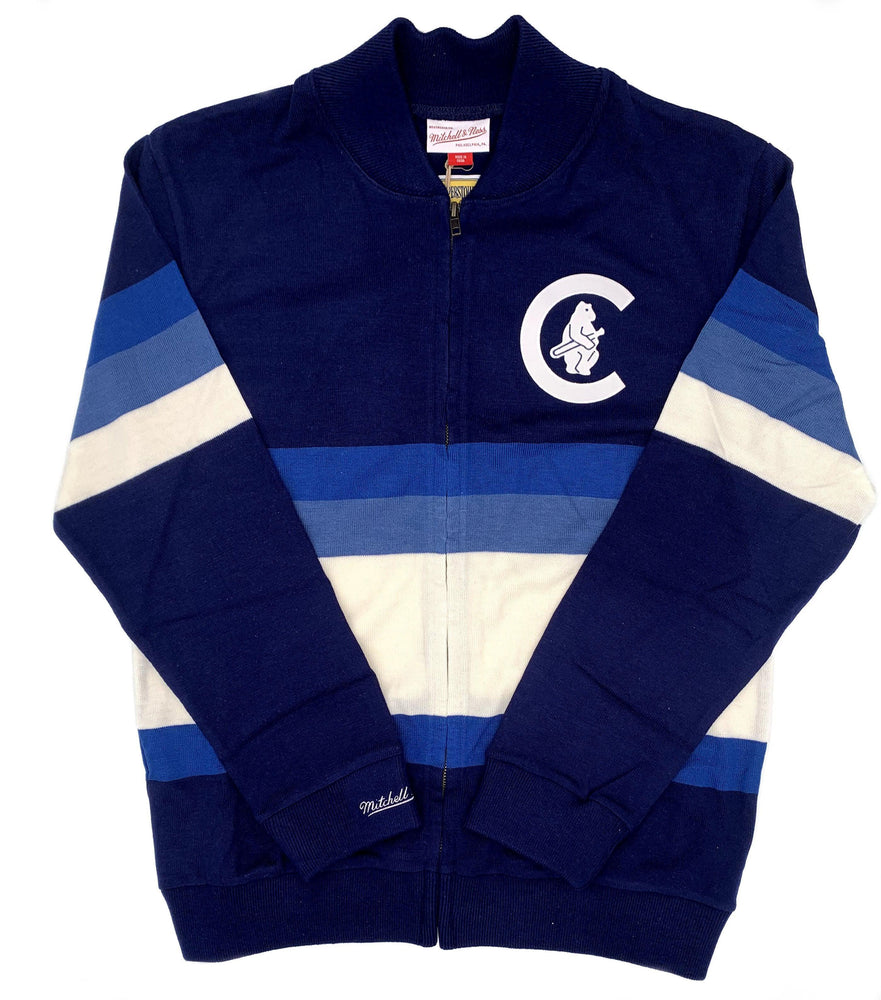 RETRO BLOCK STRIPE 1914 CHICAGO CUBS SWEATER