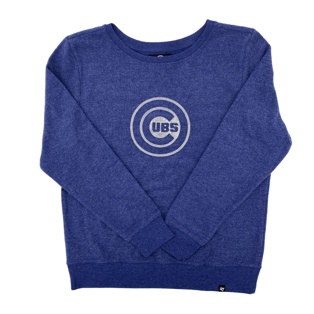 THROWBACK '47 DELUXE WOMEN'S CHICAGO CUBS CREW - Ivy Shop