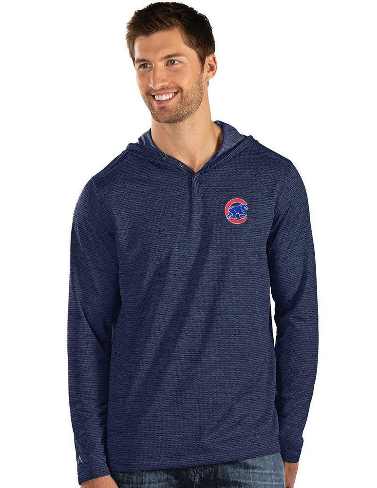 FUEL CHICAGO CUBS HOODED HENLEY - Ivy Shop