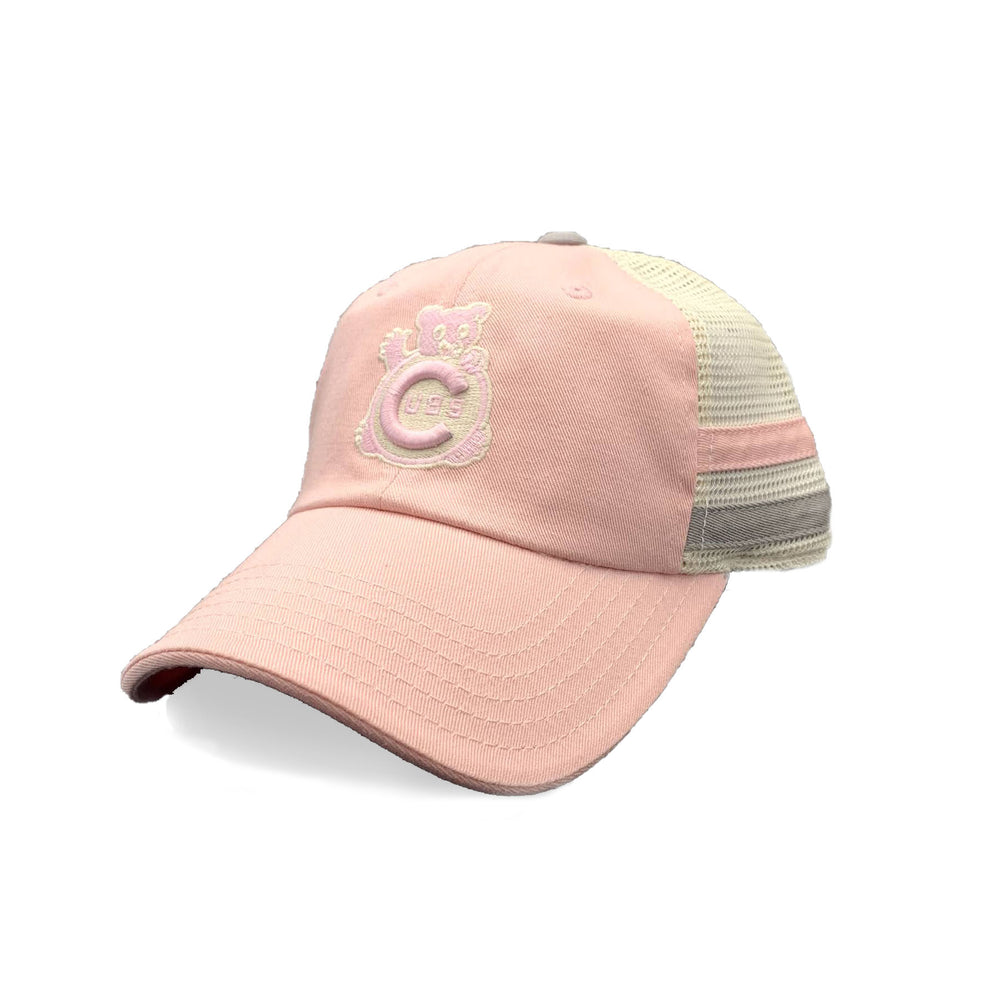 FOUNDRY PINK WOMEN'S CHICAGO CUBS ADJUSTABLE CAP