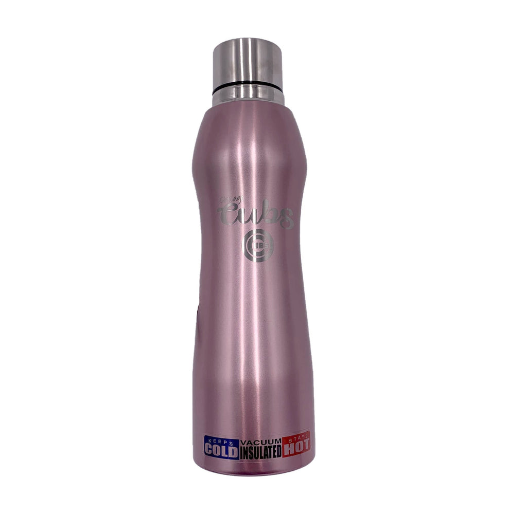 ROSE GOLD OPAL CHICAGO CUBS WATER BOTTLE