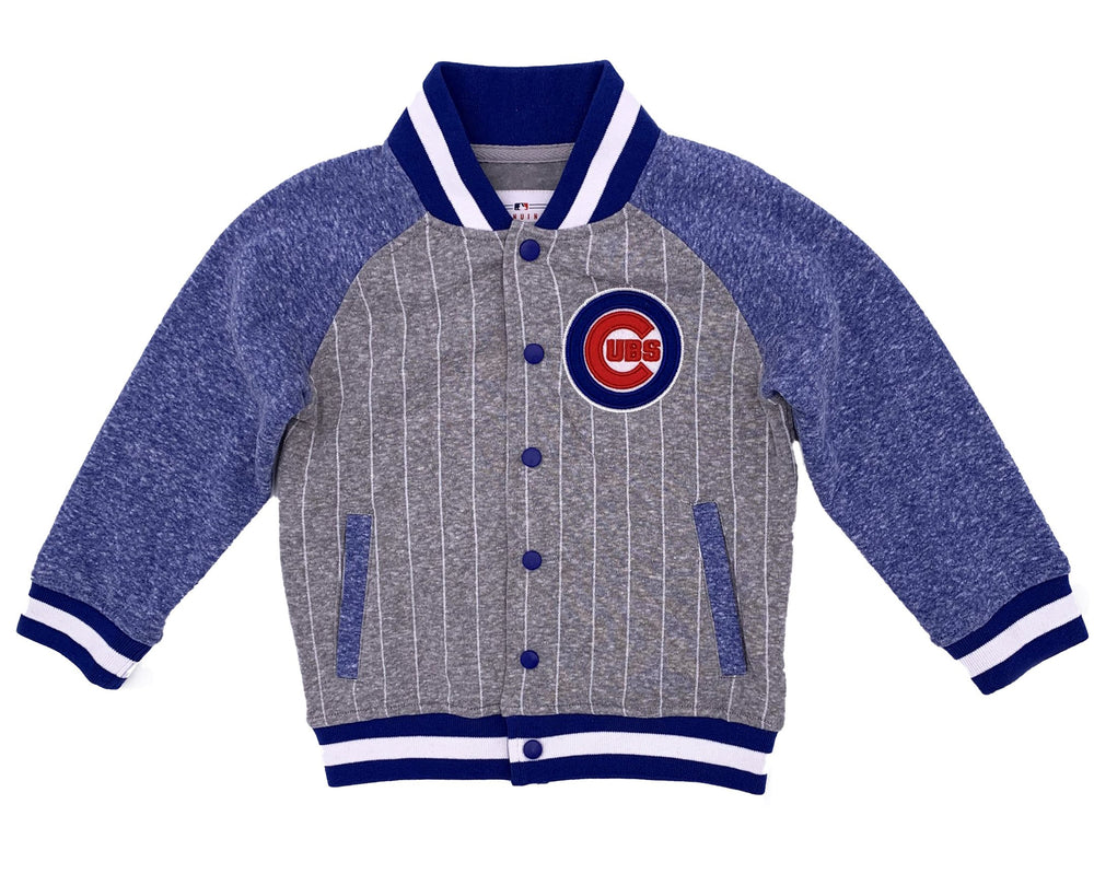 GAME PRIDE TODDLER CHICAGO CUBS BOMBER JACKET