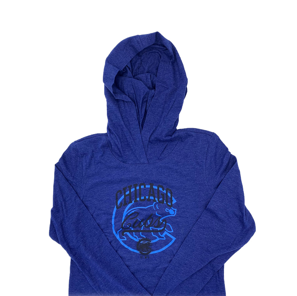 WOMEN'S '47 CLUB CHICAGO CUBS LIGHTWEIGHT HOODIE - Ivy Shop