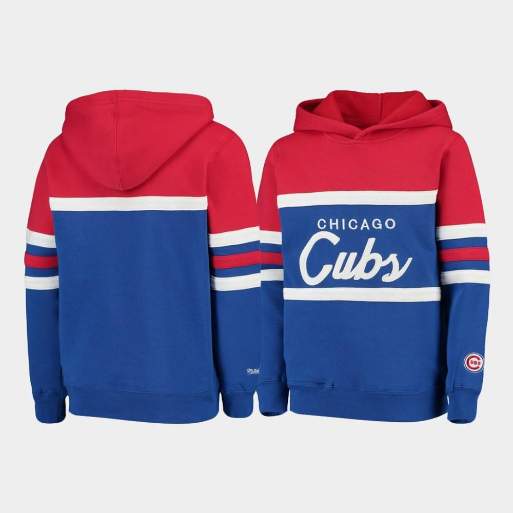 YOUTH HEAD COACH CHICAGO CUBS HOODIE