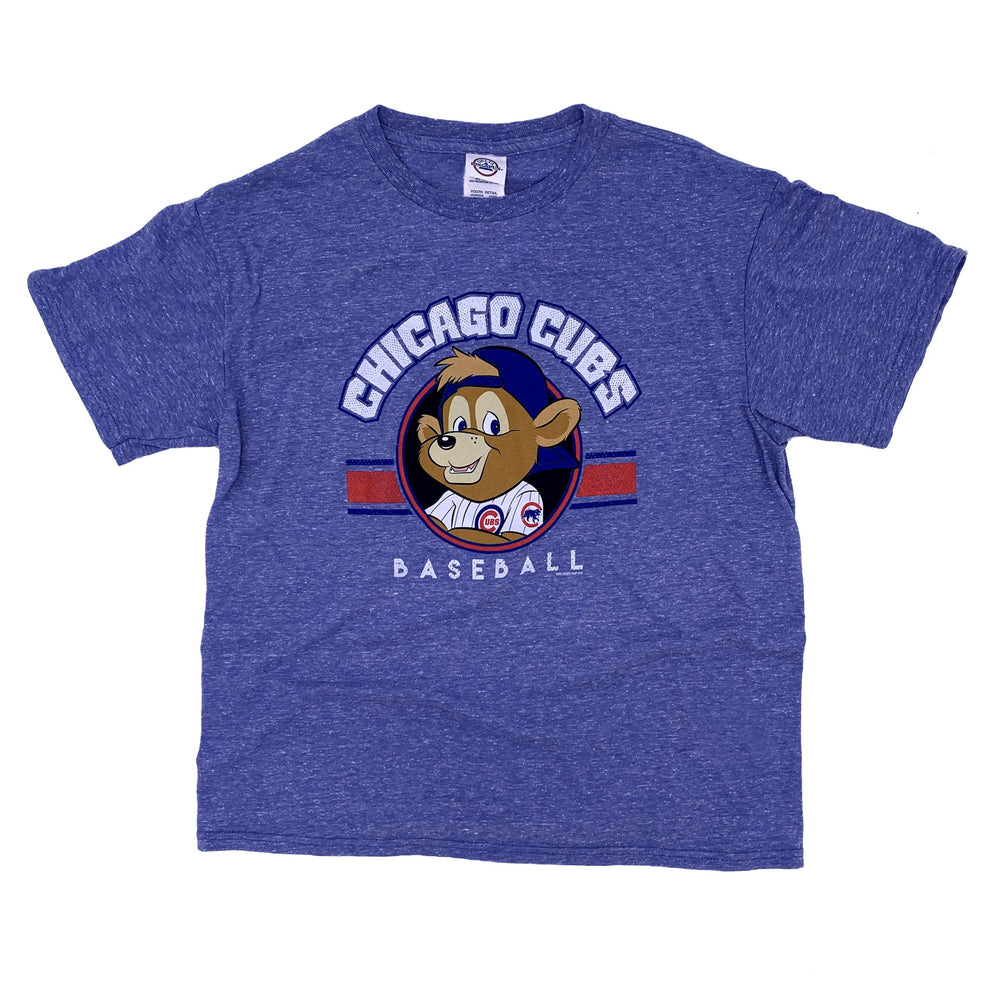 CLARK THE CUB CHICAGO CUBS HEATHERED TEE