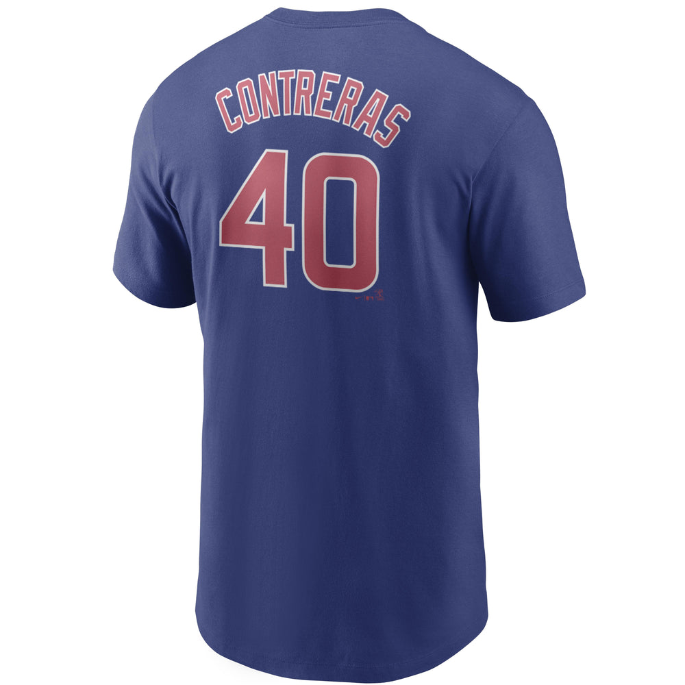 CHICAGO CUBS WILLSON CONTRERAS NAME & NUMBER TEE - Ivy Shop