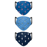 COOPERSTOWN RETRO PLEATED CHICAGO CUBS 3-PACK MASK
