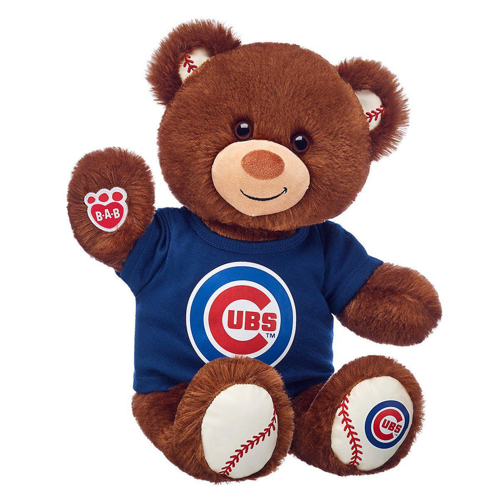 CHICAGO CUBS BUILD-A-BEAR WITH T-SHIRT