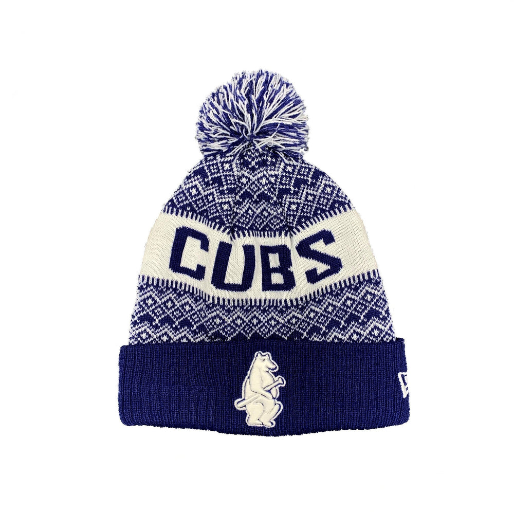 WINTRY KNIT 1914 CHICAGO CUBS BEANIE