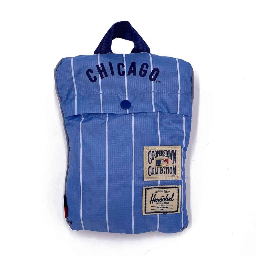 CHICAGO CUBS PINSTRIPE PACKABLE DAYPACK