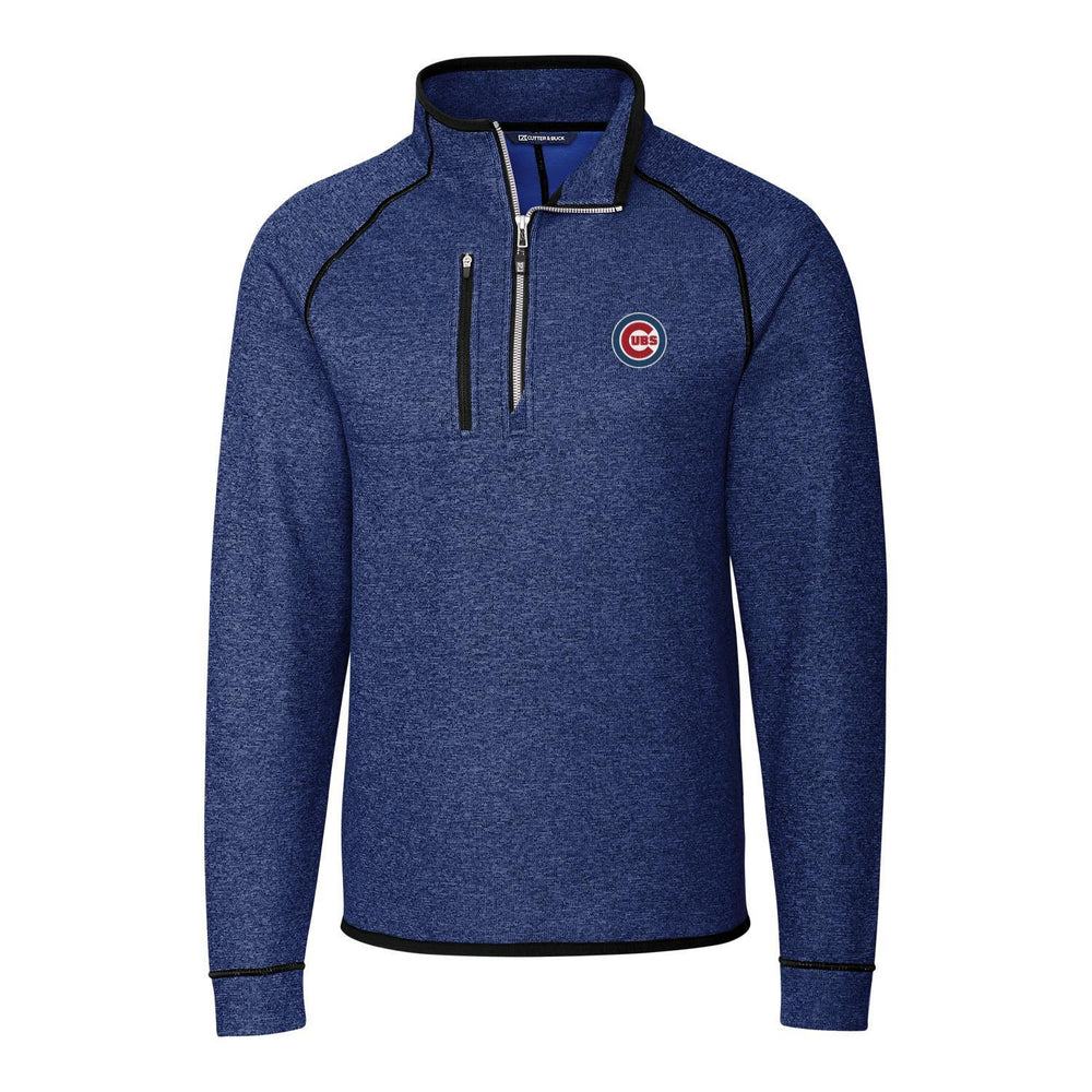 MAINSAIL 3D CHICAGO CUBS HALF ZIP