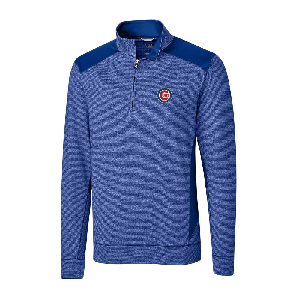 SHORELINE COLORBLOCK 3D CHICAGO CUBS HALF ZIP