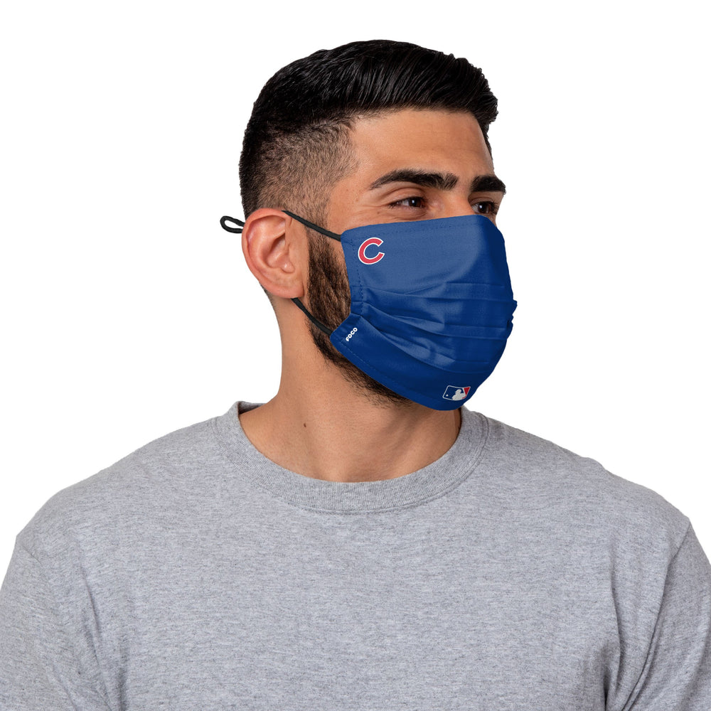 AUTHENTIC PLEATED ON-FIELD CHICAGO CUBS MASK - Ivy Shop