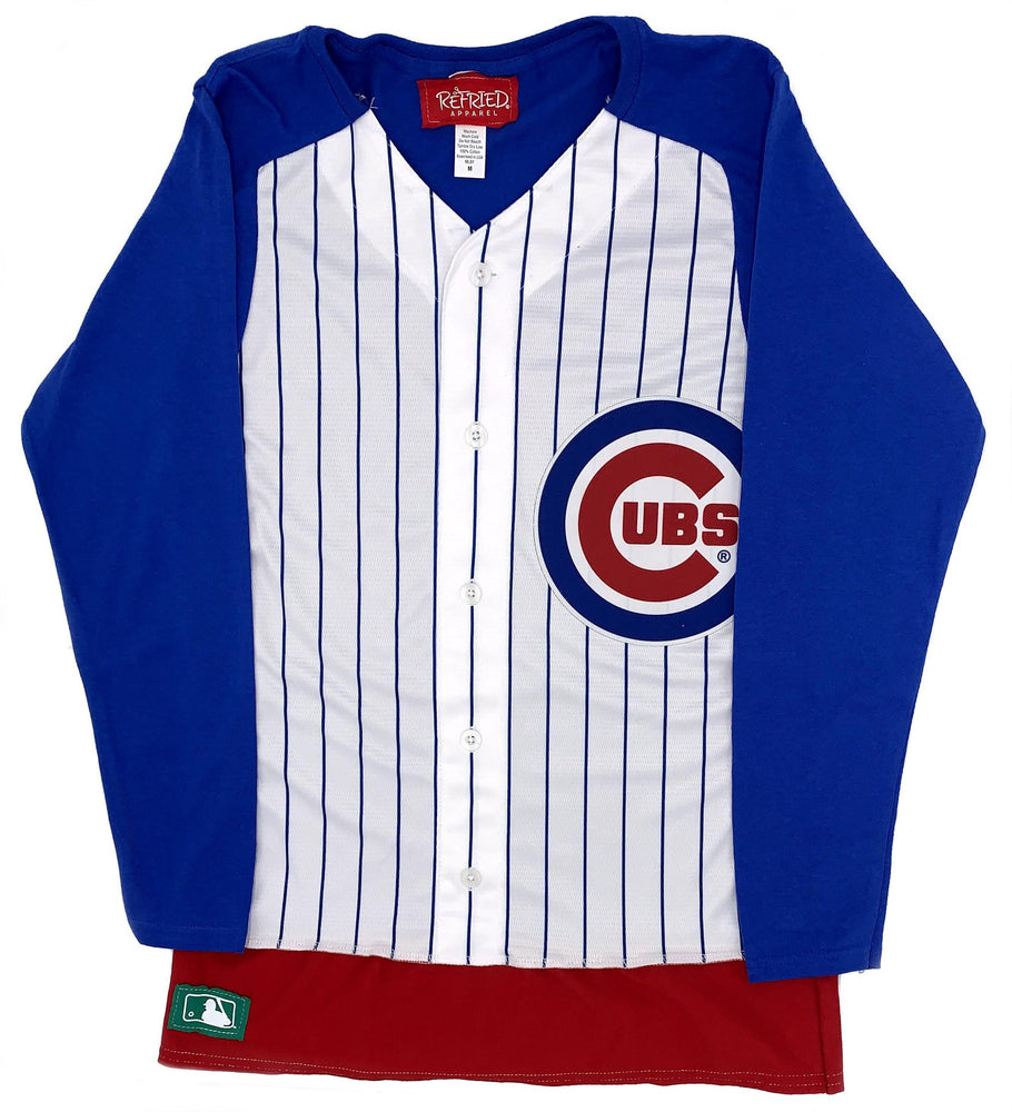 CHICAGO CUBS WOMEN'S JERSEY LONG SLEEVE
