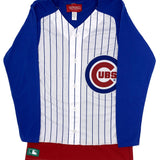 WOMEN'S CHICAGO CUBS JERSEY LONG SLEEVE TEE - Ivy Shop
