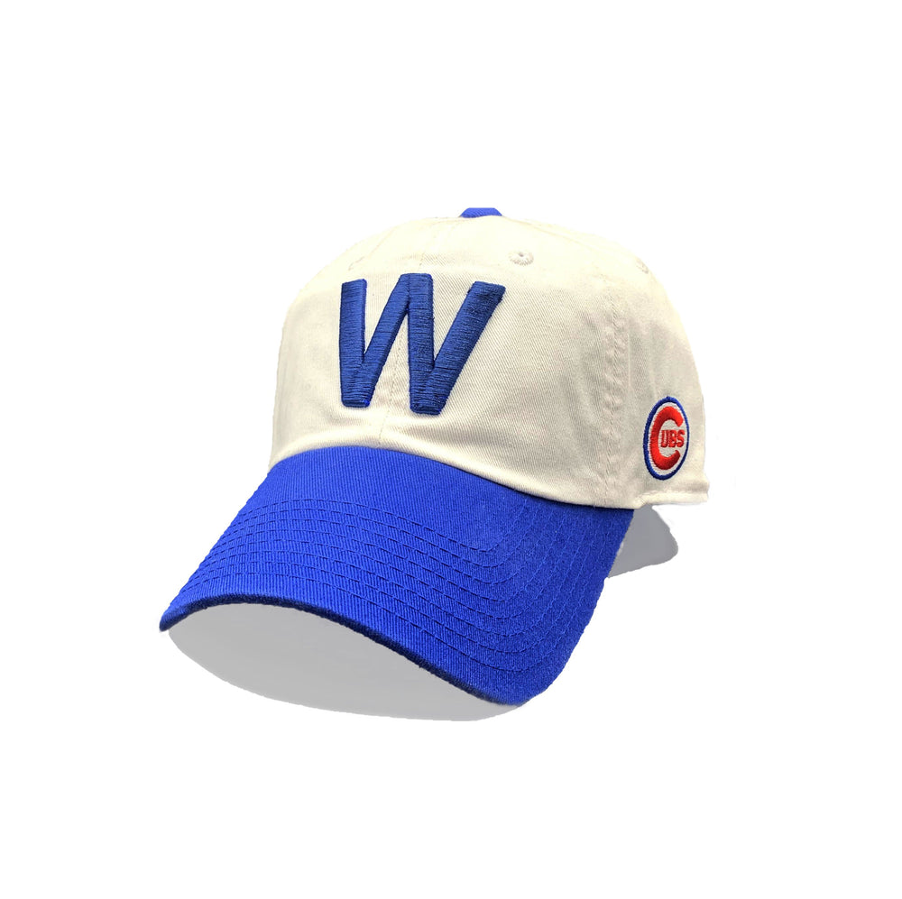 W FLAG CHICAGO CUBS ADJUSTABLE CAP