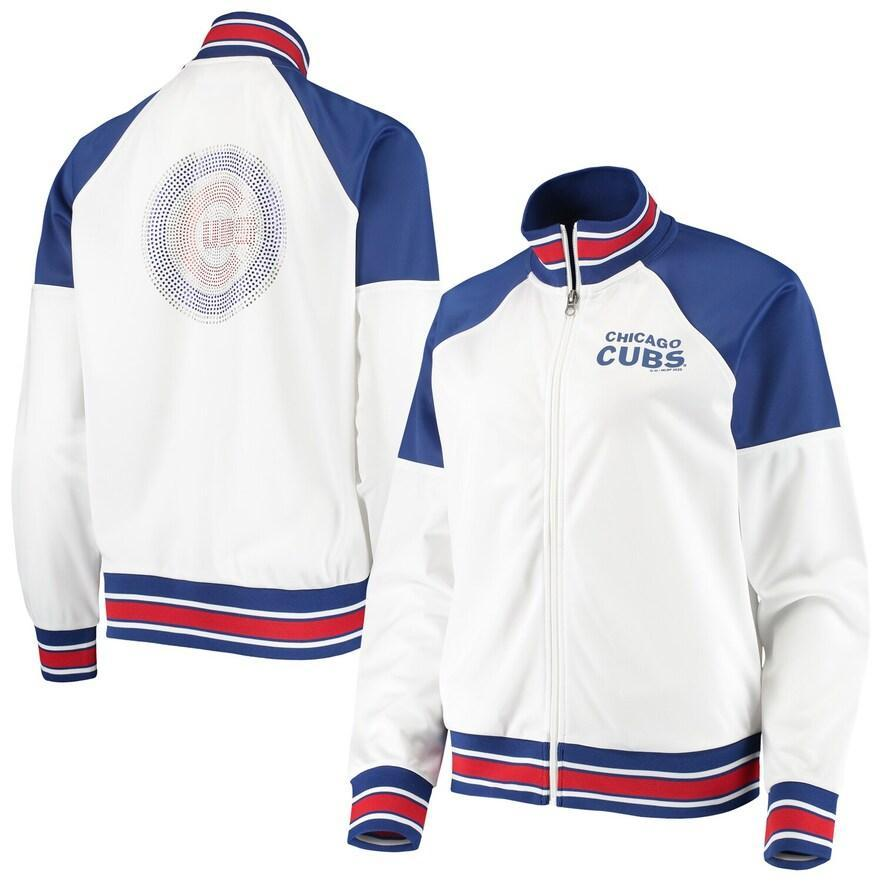 FIRST HIT WOMEN'S CHICAGO CUBS JACKET - Ivy Shop