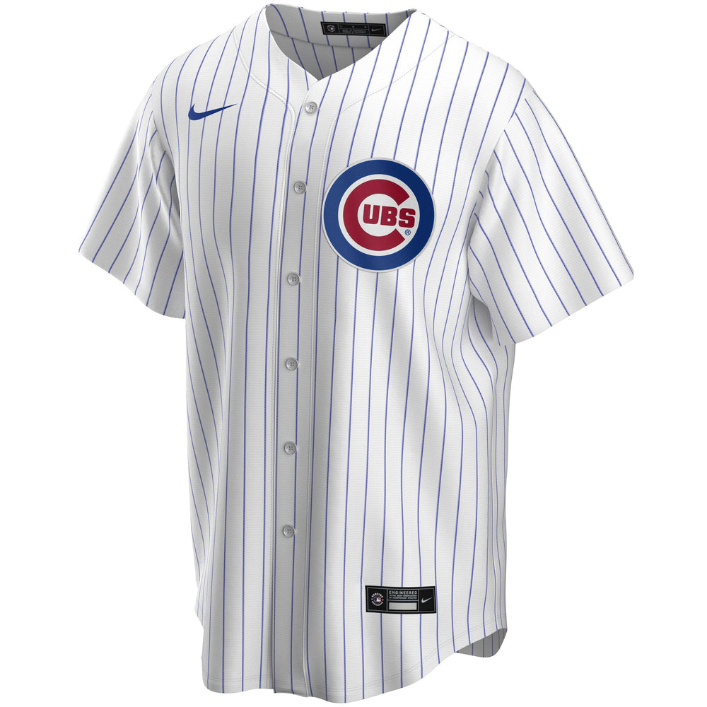 CHICAGO CUBS REPLICA JAVIER BAEZ HOME JERSEY - Ivy Shop
