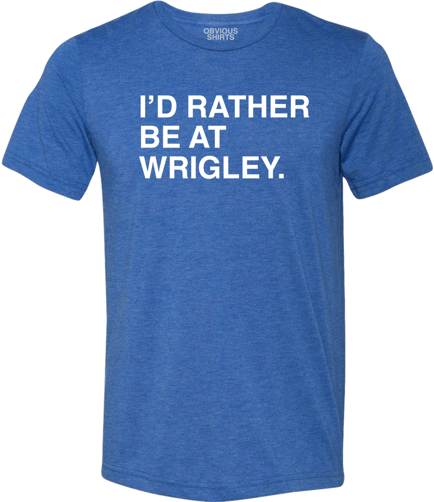 RATHER BE AT WRIGLEY TEE - Ivy Shop