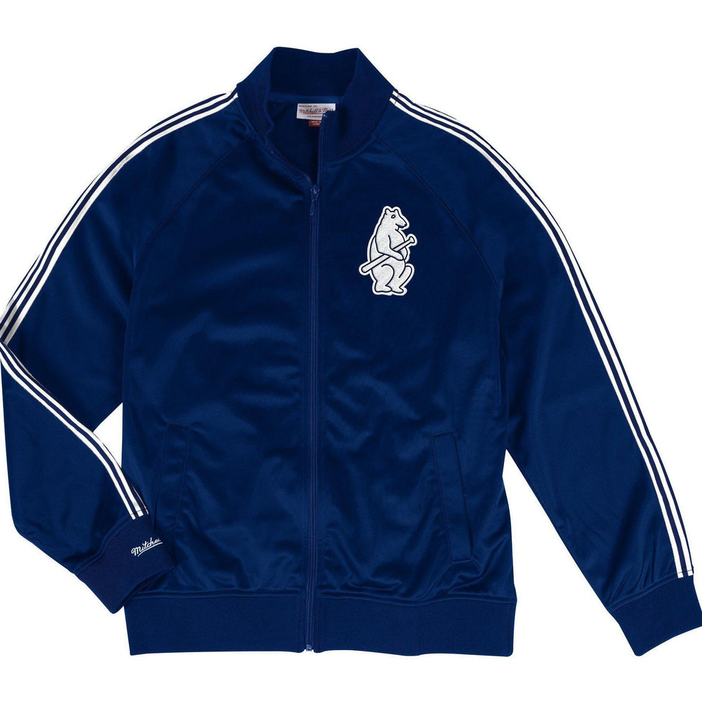 NAVY 1914 CHICAGO CUBS TRACK JACKET