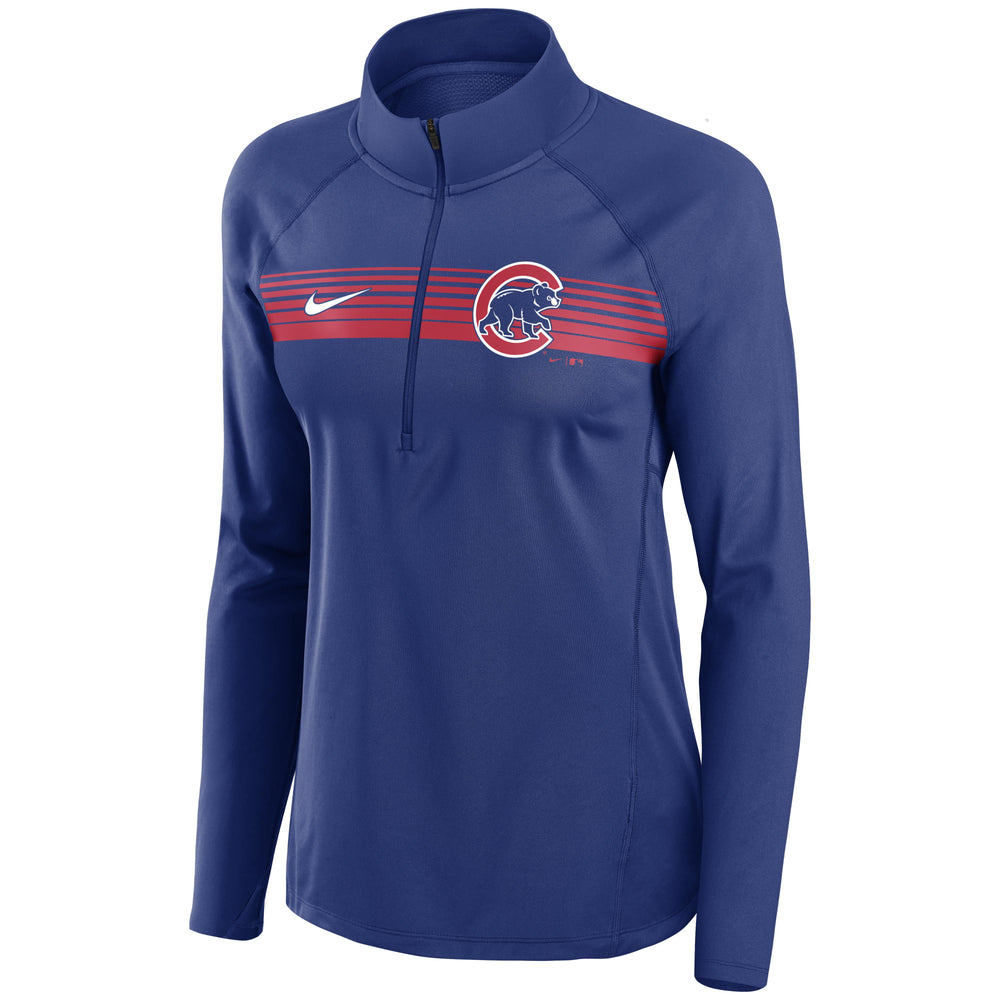 CHICAGO CUBS WOMEN'S ELEMENT 1/2 ZIP PULLOVER JACKET