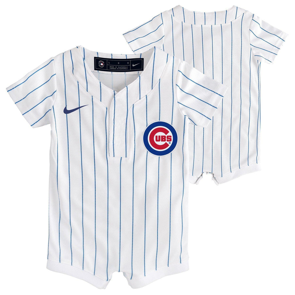 HOME JERSEY INFANT CHICAGO CUBS ONESIE - Ivy Shop