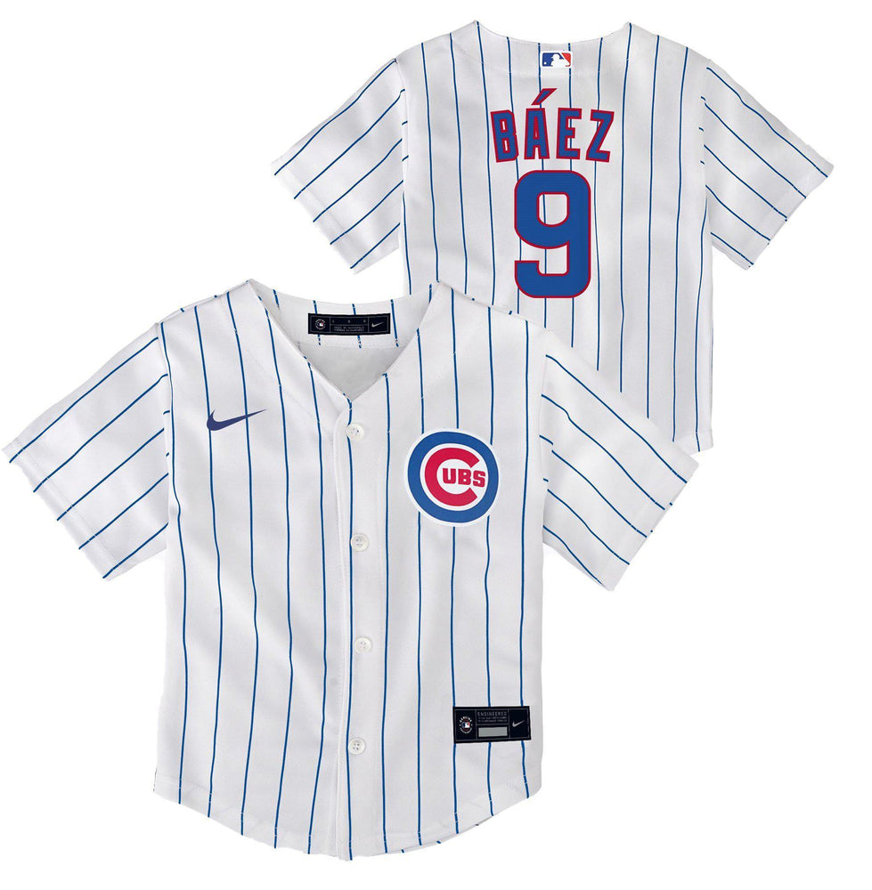 REPLICA YOUTH CHICAGO CUBS JAVIER BAEZ JERSEY - HOME - Ivy Shop