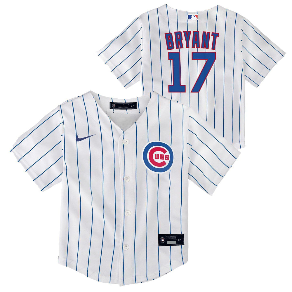 REPLICA YOUTH CHICAGO CUBS KRIS BRYANT JERSEY - HOME - Ivy Shop