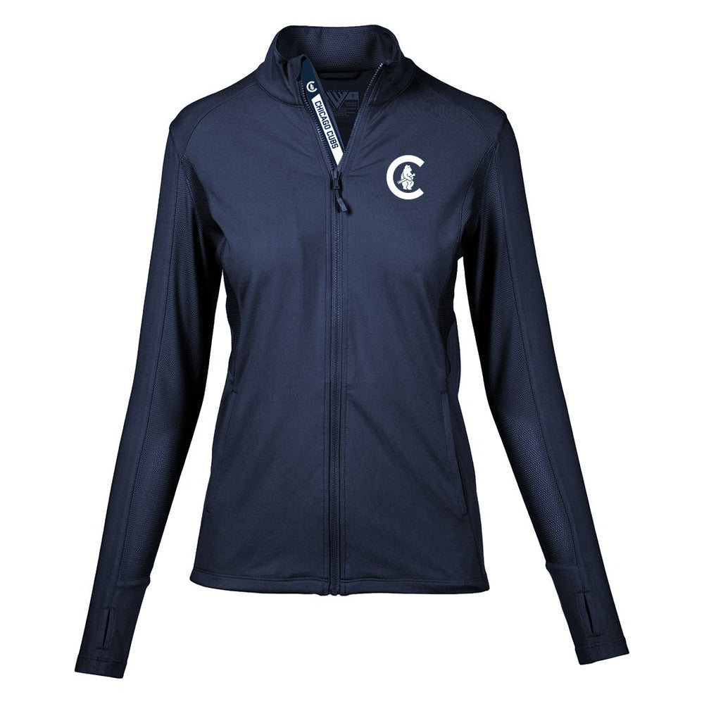 1914 ALYSSA WOMENS CHICAGO CUBS JACKET - Ivy Shop