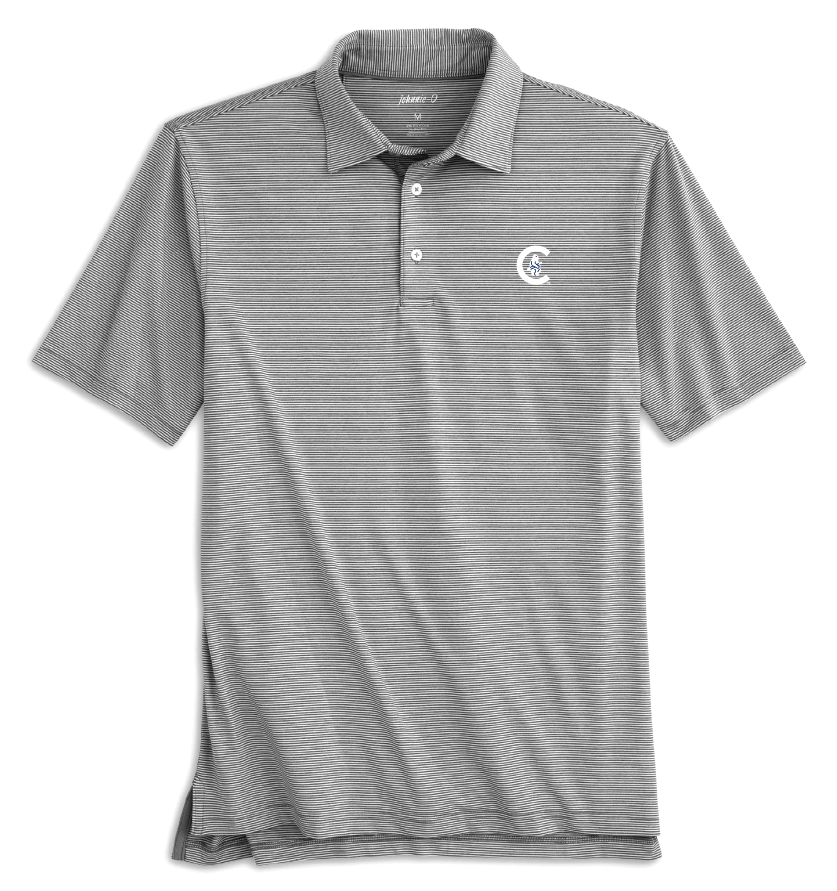 LYNDON STRIPED PREP-FORMANCE CHICAGO CUBS POLO - Ivy Shop
