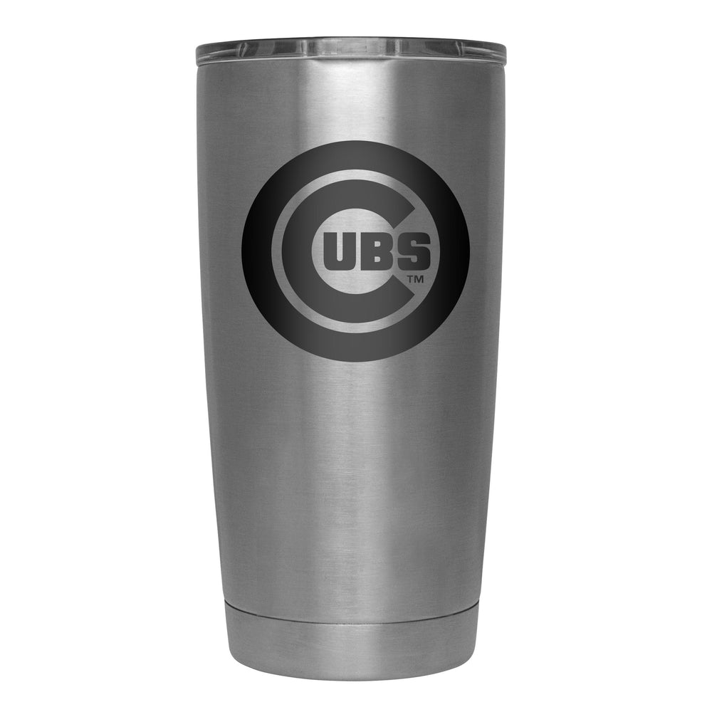 STAINLESS 20 OZ. CHICAGO CUBS TUMBLER - Ivy Shop