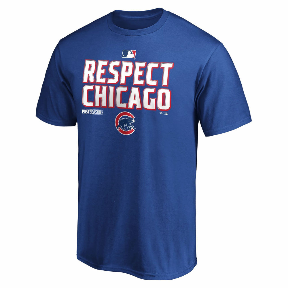 2020 POSTSEASON LOCKER ROOM CHICAGO CUBS TEE