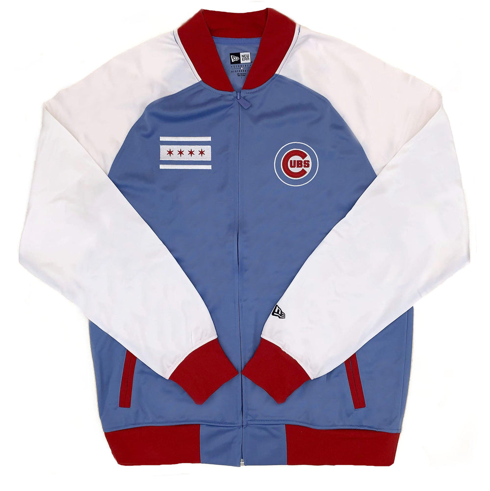 CHICAGO FLAG CHICAGO CUBS TRACK JACKET