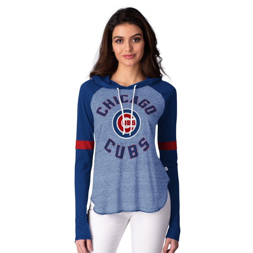 OPENING DAY RAGLAN WOMEN'S CHICAGO CUBS HOODIE - Ivy Shop