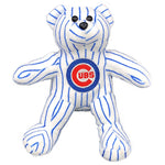 CHICAGO CUBS PINSTRIPE BEANBAG BEAR