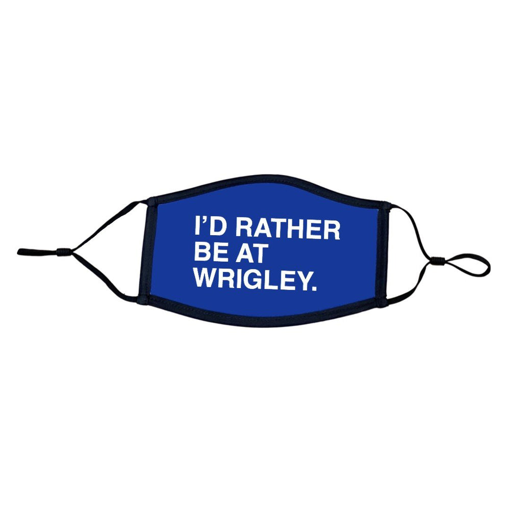I'D RATHER BE AT WRIGLEY MASK - Ivy Shop