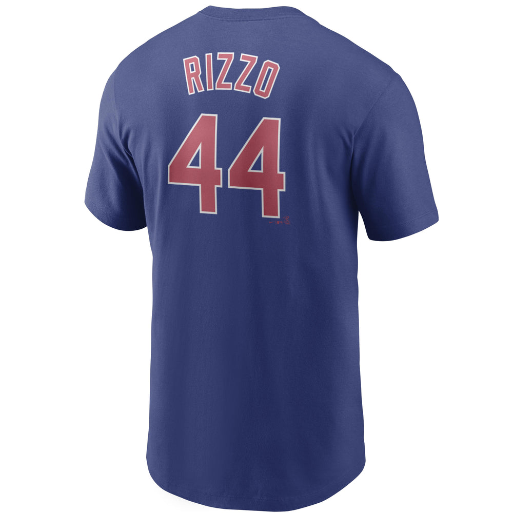 ANTHONY RIZZO CHICAGO CUBS NAME AND NUMBER TEE