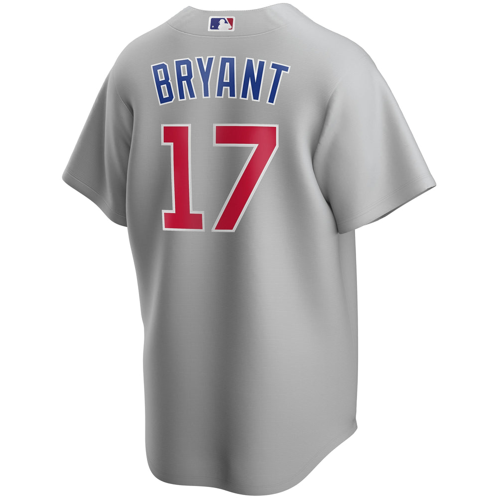 REPLICA CHICAGO CUBS KRIS BRYANT JERSEY - ROAD