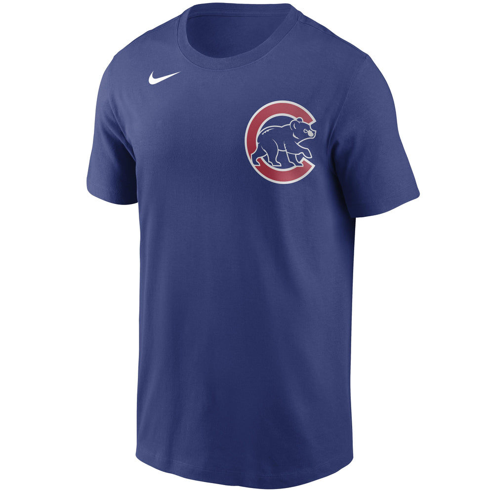 CHICAGO CUBS JAVIER BAEZ NAME & NUMBER TEE - Ivy Shop