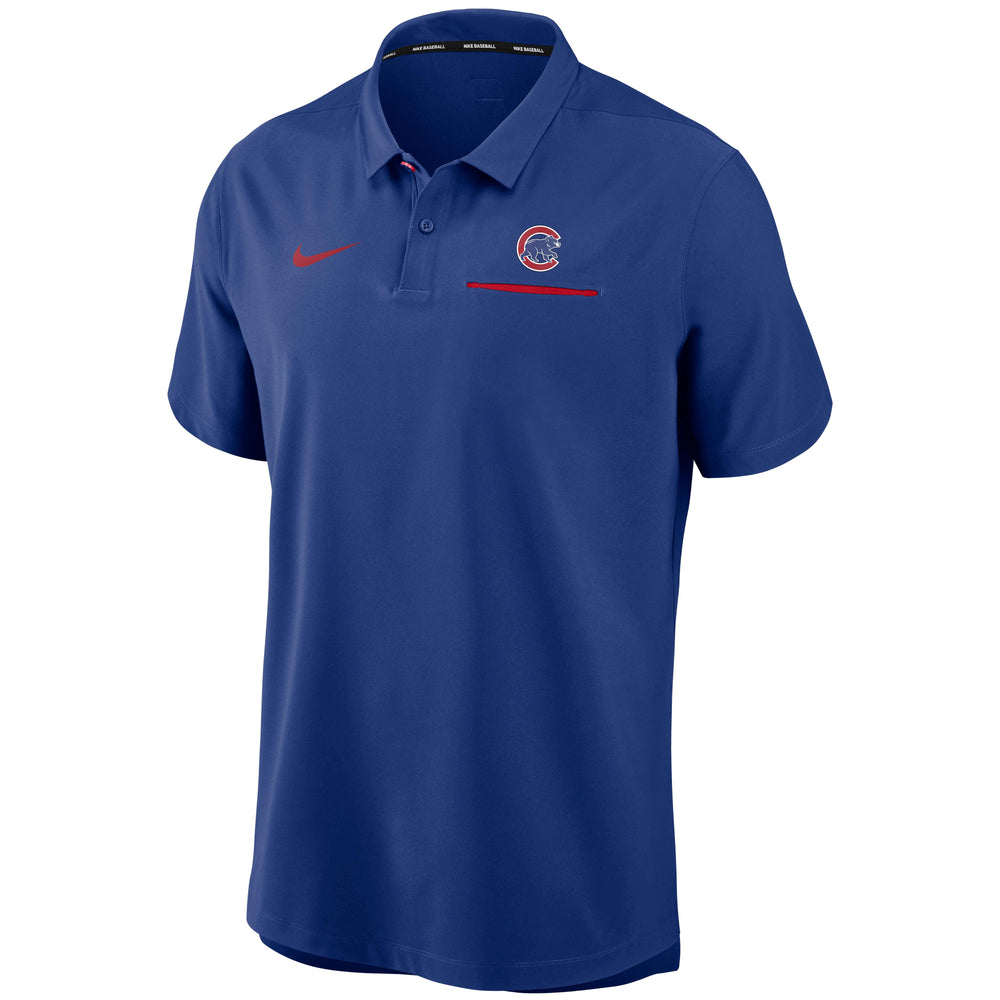 AUTHENTIC COLLECTION CHICAGO CUBS PERFORMANCE POLO
