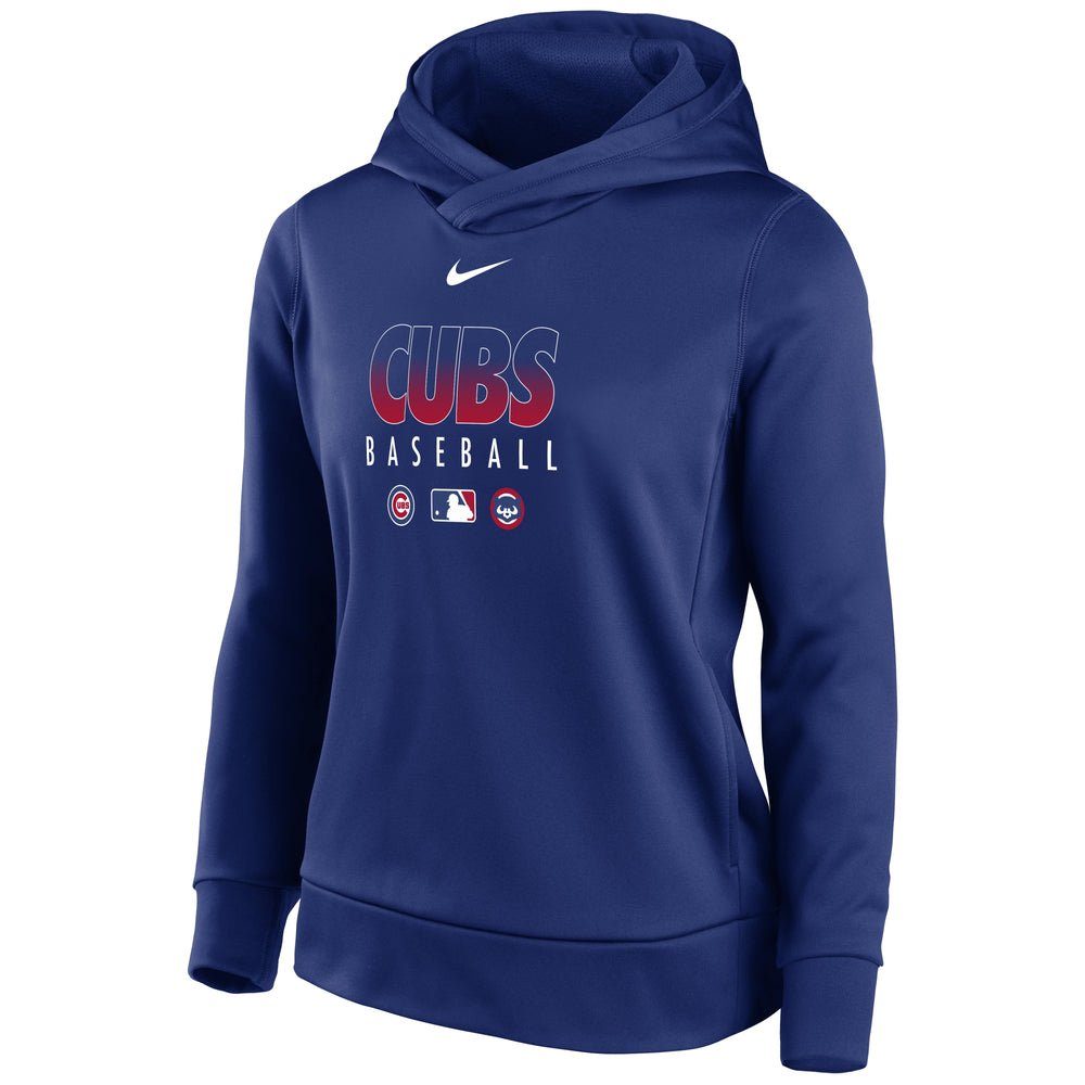 WOMEN'S CHICAGO CUBS THERMA HOODIE