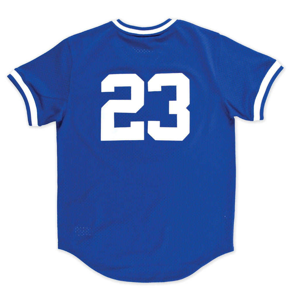 YOUTH MESH RETRO CHICAGO CUBS RYNE SANDBERG JERSEY