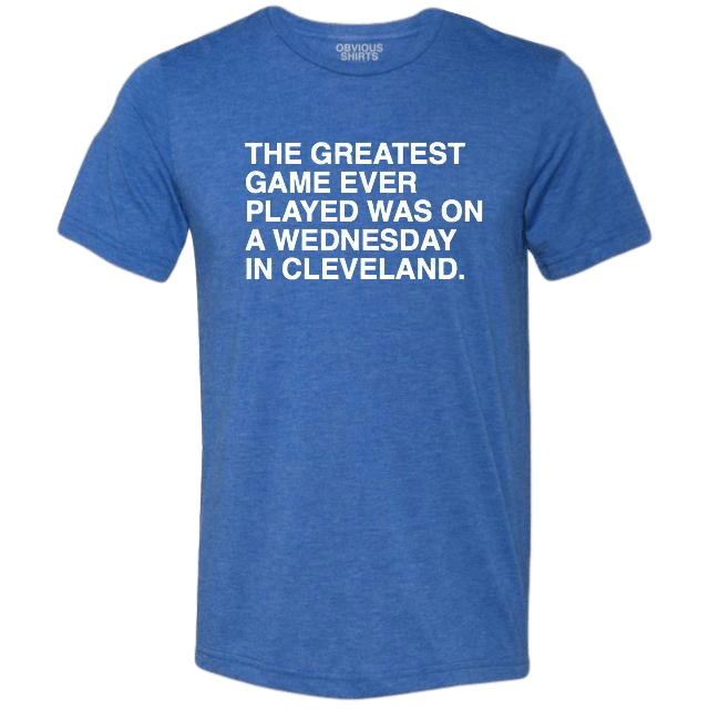 GREATEST GAME EVER PLAYED TEE - Ivy Shop