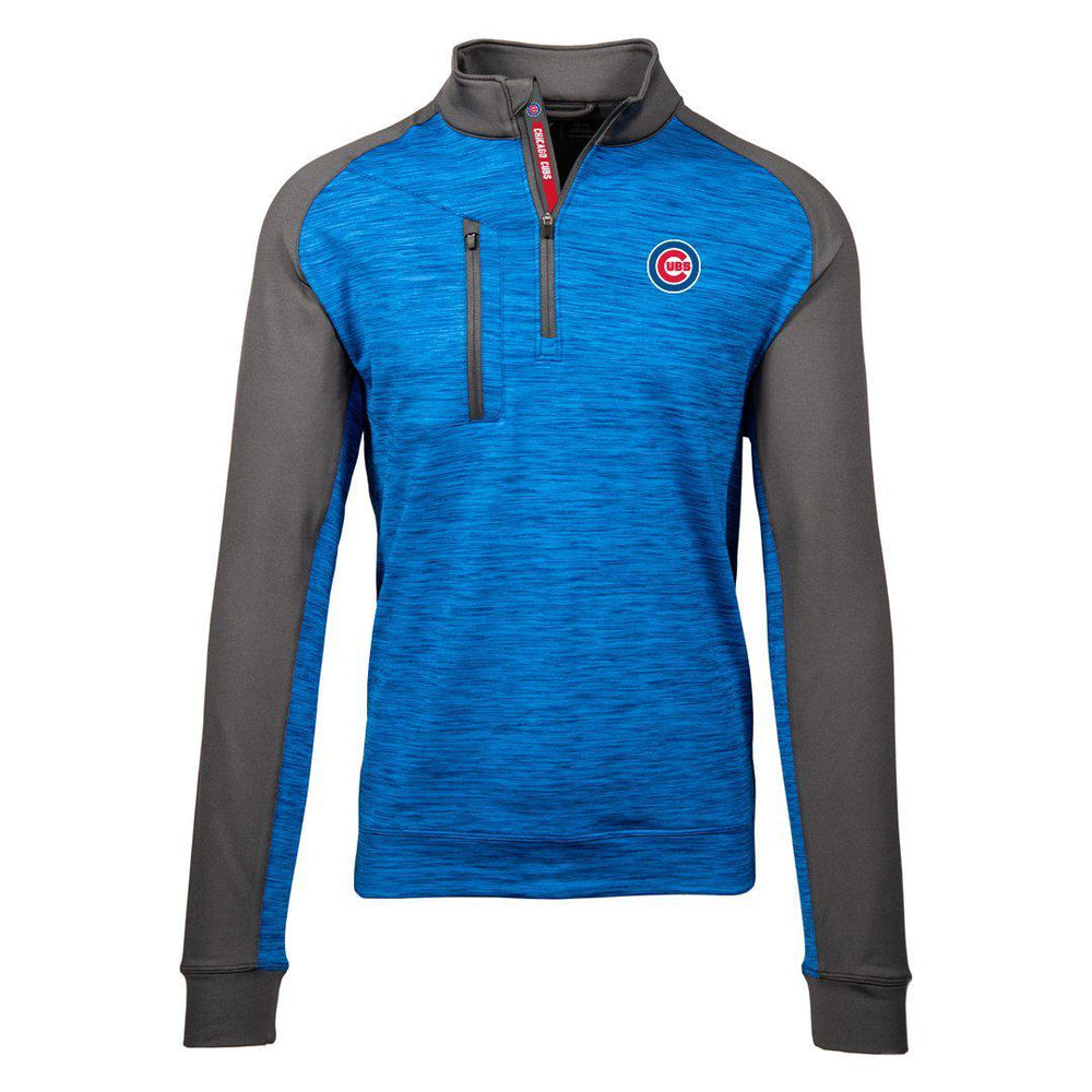 RAMPART CHICAGO CUBS HALF ZIP PULLOVER - Ivy Shop