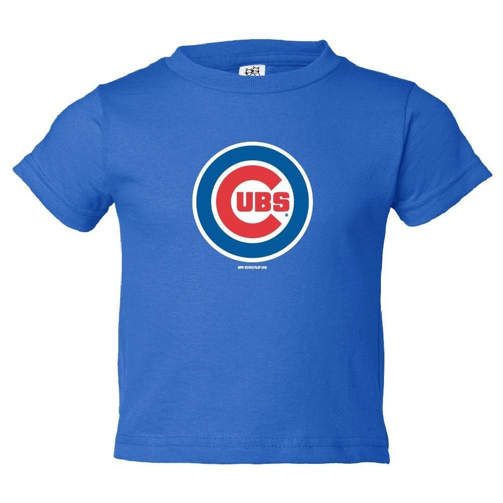 ROYAL LOGO TODDLER CHICAGO CUBS TEE