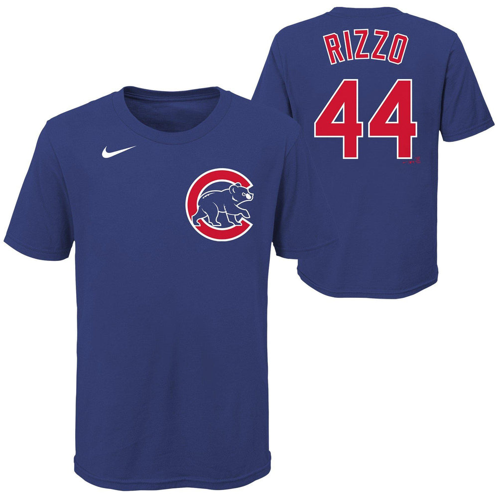 ANTHONY RIZZO YOUTH CHICAGO CUBS NAME AND NUMBER TEE